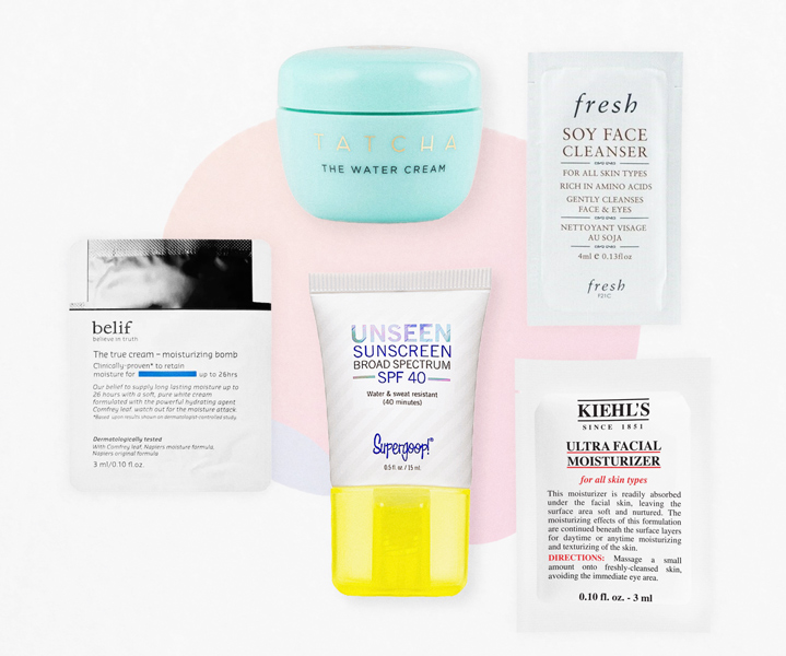 Free Skincare Sample Set